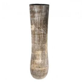 Jarrón de palmera