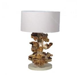 Lámpara de mesilla hongo
