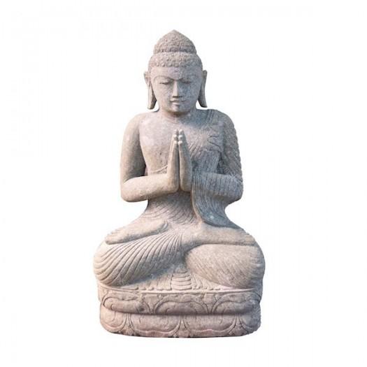 Estatua de Buda de piedra