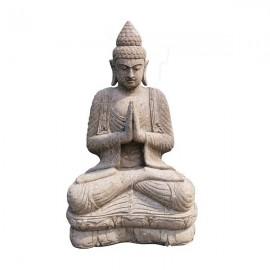 Estatua de piedra de Buda