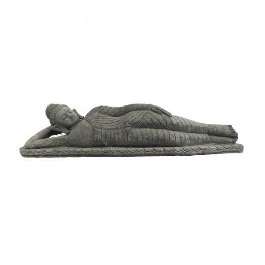 Buda tumbado de piedra