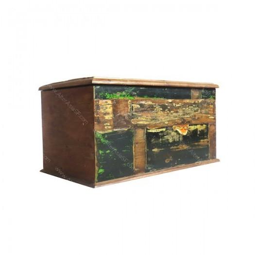 Baúl madera reciclada