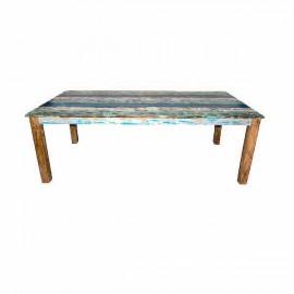 Mesa teca reciclada