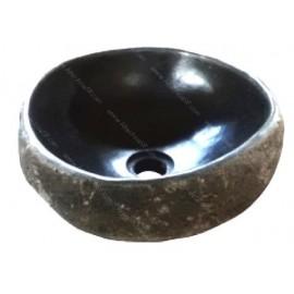 Lavabo de piedra labio fino