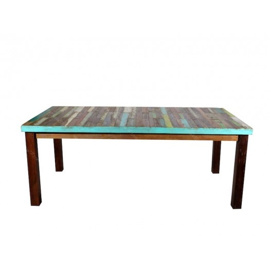 Mesa madera reciclada