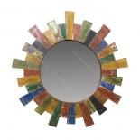 Espejo madera reciclada