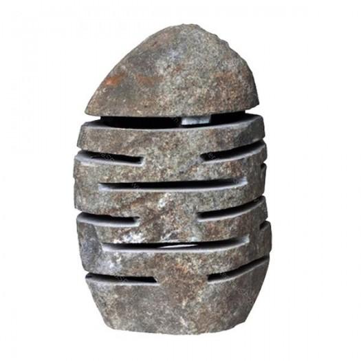Lámpara de piedra