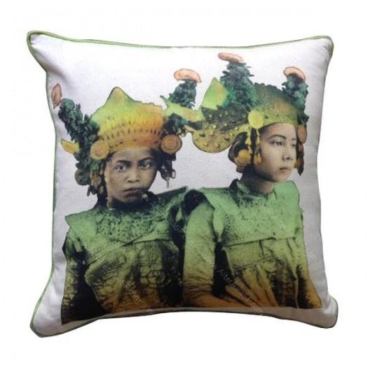 Funda cojín Bailarines Bali