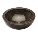 Lavabo de mármol negro pulido
