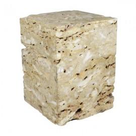 Taburete de mármol
