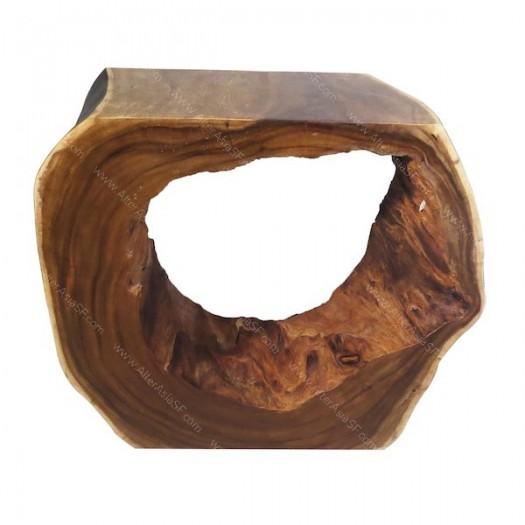 Consola rústica tronco