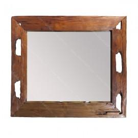 Espejo madera de viga