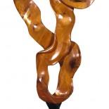Escultura caoba