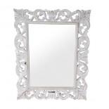Espejo tallado de madera