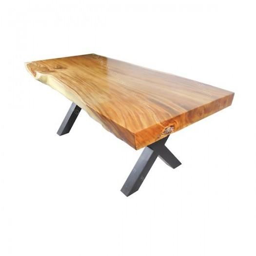 Mesa tronco de suar