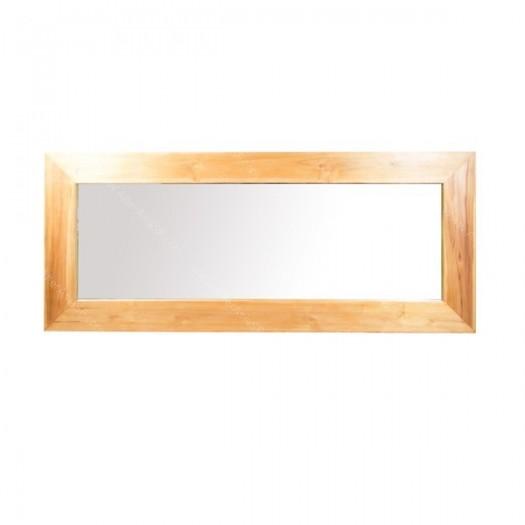 Espejo de madera de teca