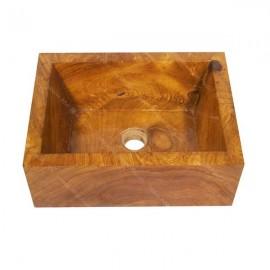 Lavabo madera de teca