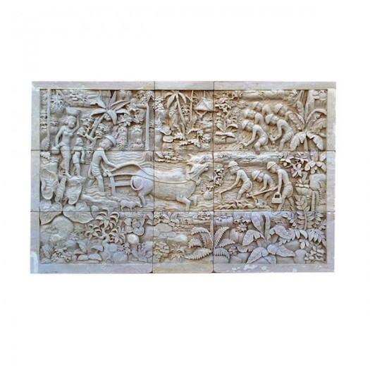 Panel piedra Bali