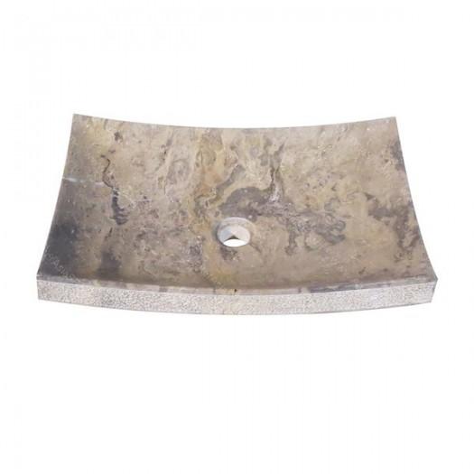 Lavabo de mármol plano