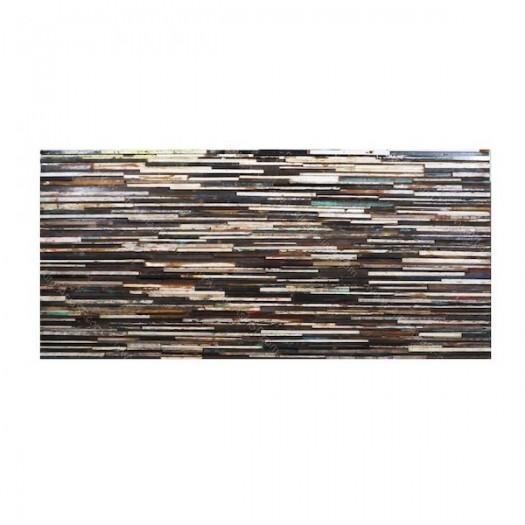Cabecera de madera reciclada