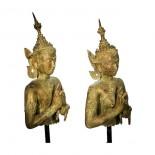 Pareja Budas tailandeses
