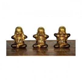 Trío de Budas