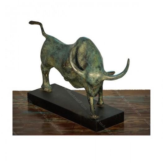Escultura de toro