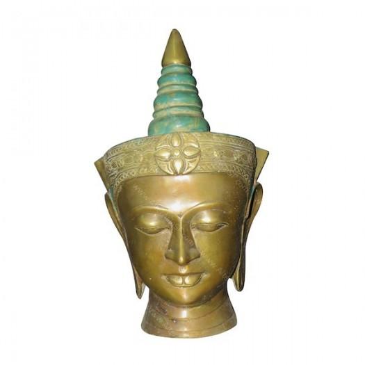 Busto Buda bronce