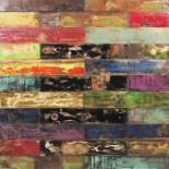 Panel madera reciclada