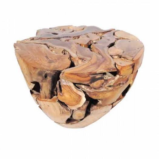 Taburete de raíces