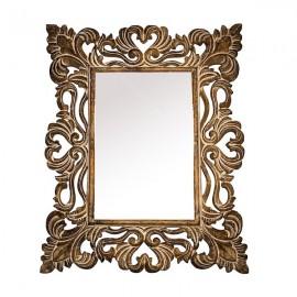 Espejo madera tallado