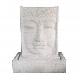 Fuente Buda blanca