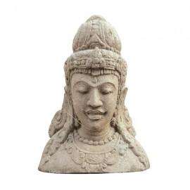 Cabeza de piedra Dwi Sri