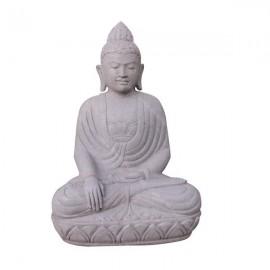 Buda sentado de piedra