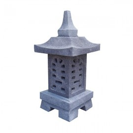Lámpara asiática de jardín