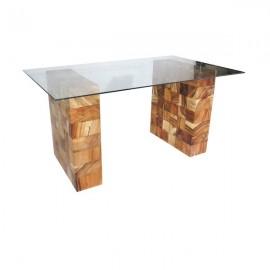 Mesa despacho cristal