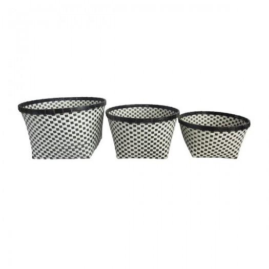 Set de 3 cestos