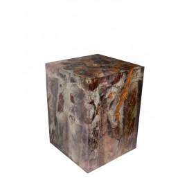 Taburete liana resina cristal