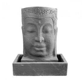 Fuente del rostro de Buda