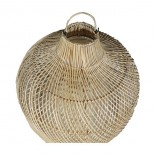 Lámpara bambú con tulipa interior